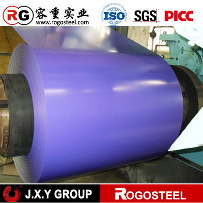 Material 40g/m2 Zinc Coating Galvanized Colour Coated Steel