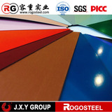0.80*1000mm ppgi many colors coated steel sheet