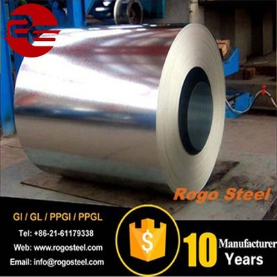 Spec regular spangle high quality galvanized steel coil z60 80 100 120 180g